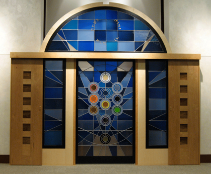 Ten Seiferot Stained Glass Windows Synagogue Stained Glass